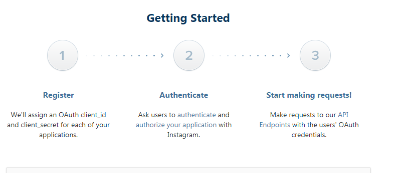 Login with Instagram using PHP
